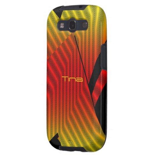 Cubierta de la galaxia s3 de Tina Samsung Samsung Galaxy S3 Cobertura
