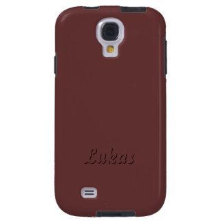 Cubierta de la galaxia s4 de Lukas Brown Samsung Funda Galaxy S4