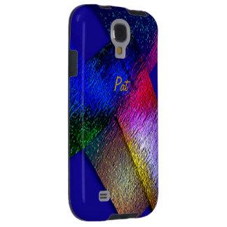 Cubierta de la galaxia s4 de Samsung de Pat Funda Para Galaxy S4