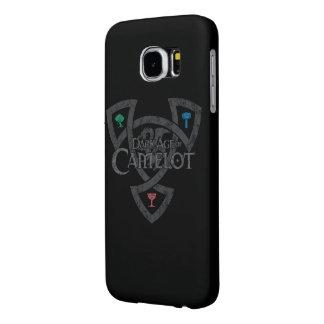 Cubierta de la galaxia S6 de Samsung del nudo de Fundas Samsung Galaxy S6
