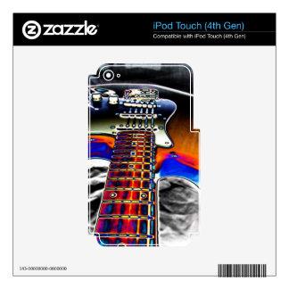 Cubierta de la guitarra de Rockn Skins Para iPod Touch 4G