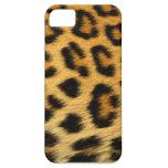 cubierta de la impresión del guepardo del iphone 5 iPhone 5 cárcasa