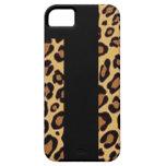 Cubierta de la impresión del guepardo iPhone 5 Case-Mate carcasa