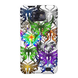 Cubierta de la mariposa para su Samsung Galaxy SII Funda