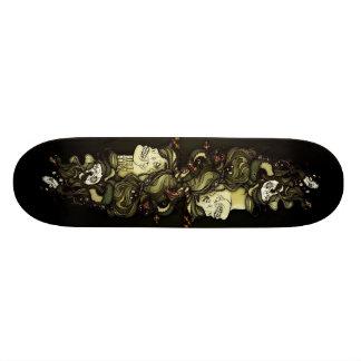 Cubierta de la medusa tabla de skate