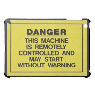 cubierta de la muestra del peligro