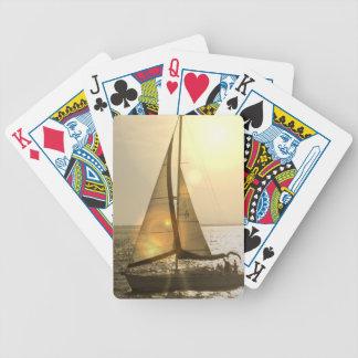 Cubierta de la navegación de la oscuridad de tarje baraja de cartas