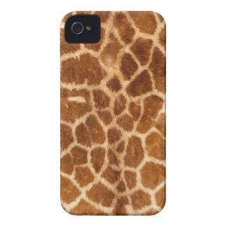 Cubierta de la piel del cuerpo de la jirafa iPhone 4 cárcasa