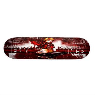 Cubierta de la princesa Skateboard del infierno