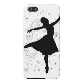 Cubierta de la silueta iPhone4 de la bailarina iPhone 5 Carcasas