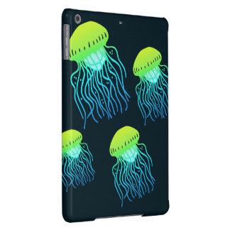 Cubierta de la tableta del iPad de las medusas Carcasa iPad Air