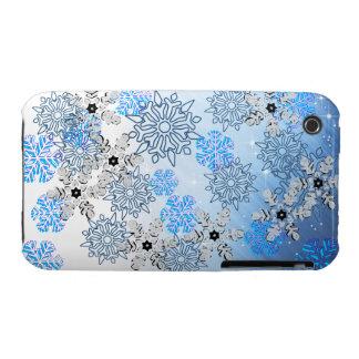 Cubierta de la tarde Nevado iPhone 3 Case-Mate Cárcasa