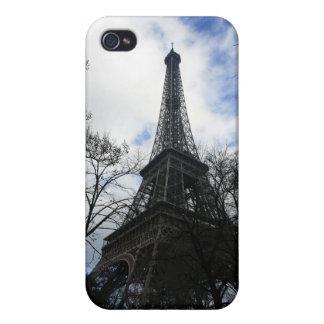 Cubierta de la torre Eiffel iPhone4 iPhone 4/4S Fundas