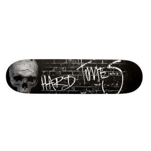 Cubierta de las dificultades (cráneo) patinetas personalizadas