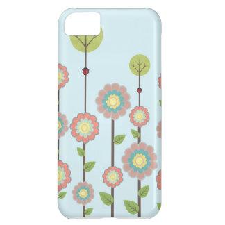 cubierta de las flores iphone5