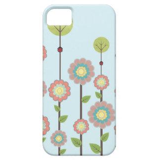 cubierta de las flores iphone5 iPhone 5 Case-Mate protectores