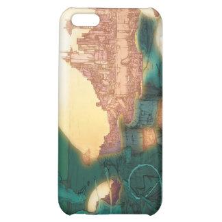 Cubierta de levantamiento del iPhone de la Atlánti