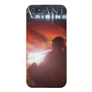 Cubierta de levantamiento del iPhone de la Atlánti iPhone 5 Funda