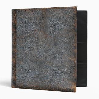 """Cubierta de libro antigua de cuero apenada obra carpeta 1"""""""