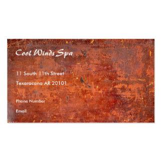 Cubierta de libro antigua encuadernada del cuero plantilla de tarjeta de negocio