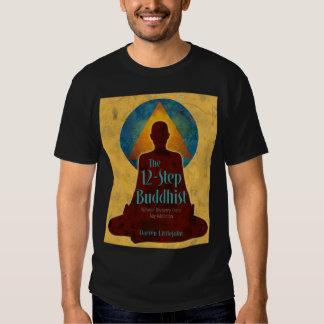 cubierta de libro completa budista 12-Step Poleras