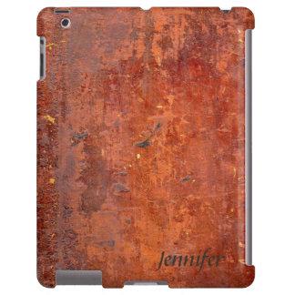Cubierta de libro de cuero antigua funda para iPad