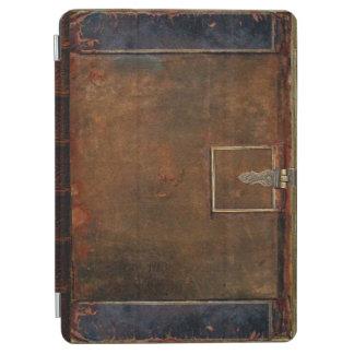 Cubierta de libro de cuero tradicional cubierta de iPad air