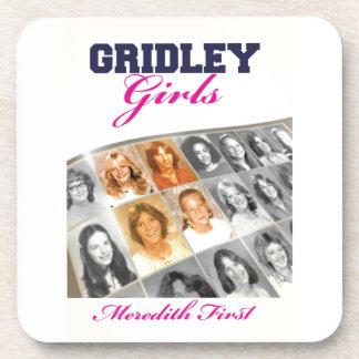 Cubierta de libro de los chicas de Gridley Posavasos De Bebida