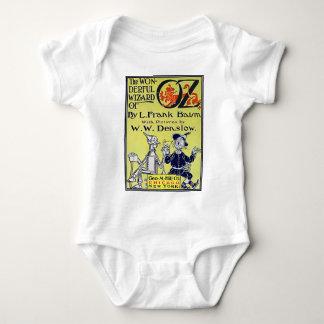Cubierta de libro de mago de Oz del vintage Body Para Bebé