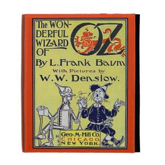 Cubierta de libro de mago de Oz del vintage