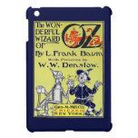 Cubierta de libro de mago de Oz del vintage iPad Mini Protector