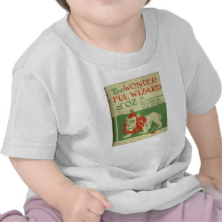 Cubierta de libro de mago de Oz del vintage Camiseta