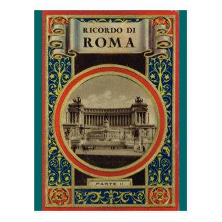 Cubierta de libro de Roma 5 Postal