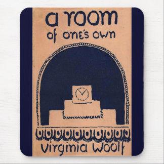 Cubierta de libro de Virginia Woolf un cuarto de l Alfombrilla De Raton