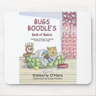 Cubierta de libro del Boodle de los insectos Tapete De Ratones