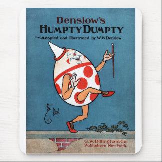 Cubierta de libro del vintage de Humpty Dumpty de Alfombrillas De Ratón