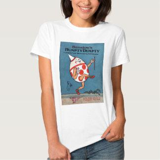 Cubierta de libro del vintage de Humpty Dumpty de Camisas