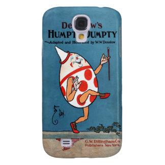 Cubierta de libro del vintage de Humpty Dumpty de Samsung Galaxy S4 Cover
