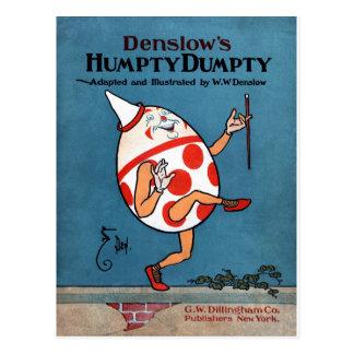 Cubierta de libro del vintage de Humpty Dumpty de Tarjeta Postal