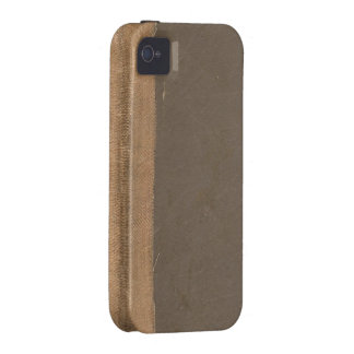 Cubierta de libro del vintage, límite retro de la Case-Mate iPhone 4 carcasas