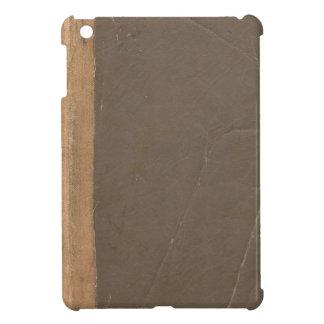 Cubierta de libro del vintage, límite retro de la  iPad mini coberturas