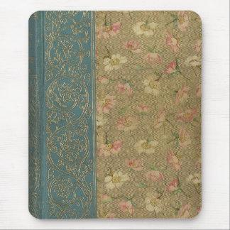 Cubierta de libro del vintage tapete de ratón