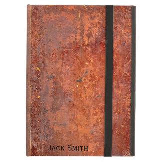 Cubierta de libro encuadernado de cuero antigua