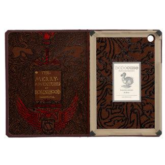 Cubierta de libro obligatoria antigua de Robin Hoo