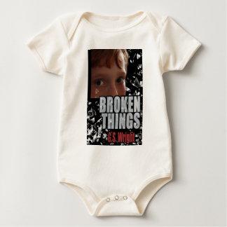 Cubierta de libro quebrada de las cosas body para bebé