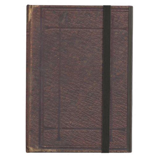 Cubierta de libro texturizada vintage rasgada y ra