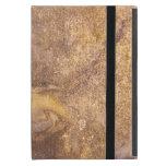 Cubierta de libro viejo gastada iPad mini carcasa