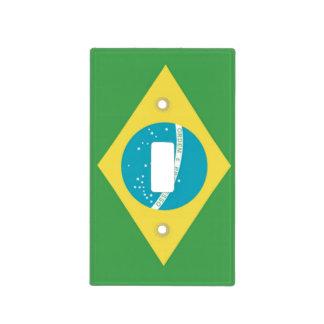 Cubierta de Lightswitch de la bandera del Brasil Tapa Para Interruptor