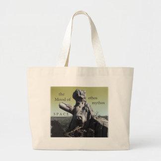 cubierta de los mythos del carácter bolsa de mano