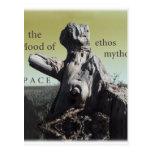 cubierta de los mythos del carácter postales
